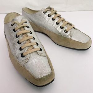 Marc Cain Sports / Metallic Leather Sneakers
